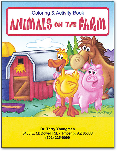 Coloring Books & Crayons   SmartPractice Veterinary