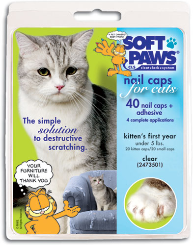 Soft Paws Clear Cat Nail Caps