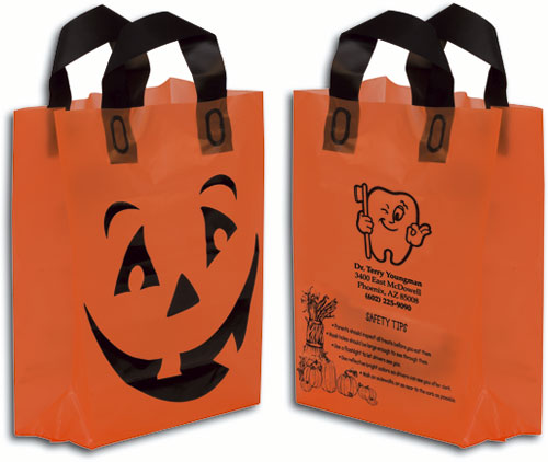 Frosted Pumpkin Shopper Tote Bag