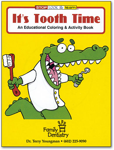 Personalized Dental Coloring Books Keep Kids Happy   SmartPractice ...