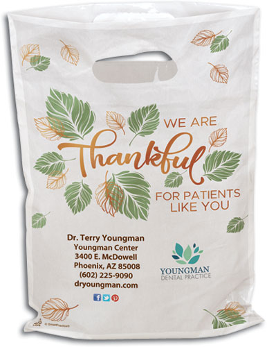 Leaves of Thanks Supply Bag