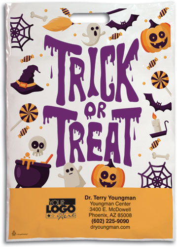 Freaks and Treats XX-Large Halloween Supply Bag