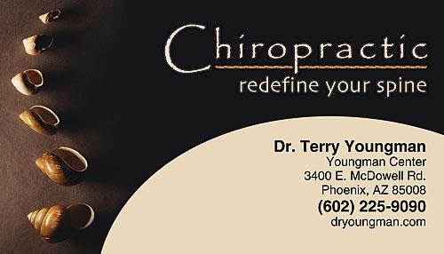 Restix keep your name visible to patients smartpractice chiropractic redefine your spine restix sticker business card colourmoves
