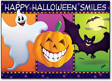Dental Halloween Postcards
