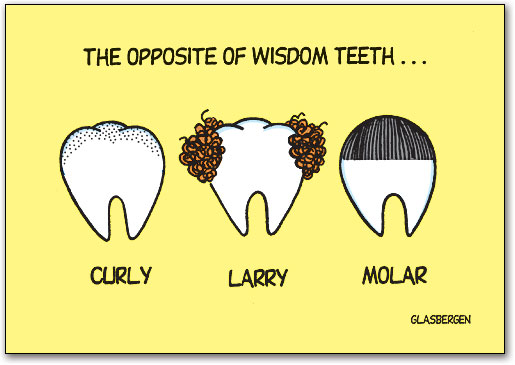 Opposite Of Wisdom Teeth Postcard Smartpractice Dental