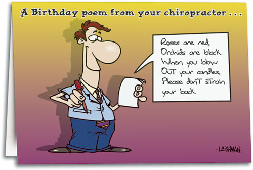 Birthday Poem Male Folding Card By Toonaday