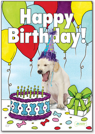 Dog Themed Birthday Cards