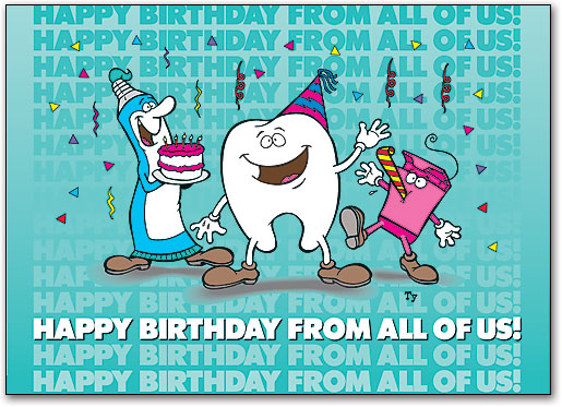 Birthday Cards Dental Patient Greetings High Quality Wide Selection Smartpractice Dental