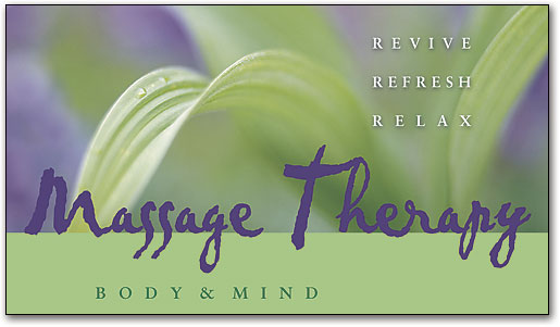 Massage therapy appointment cards keep your scheule full reviverefreshrelax appointment card smartpractice massage therapy colourmoves