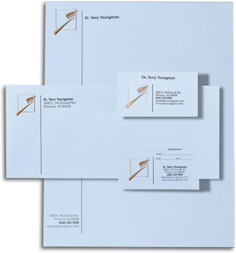 Custom stationery letterhead envelopes notepads smartpractice modern professional touch stationery set reheart Image collections