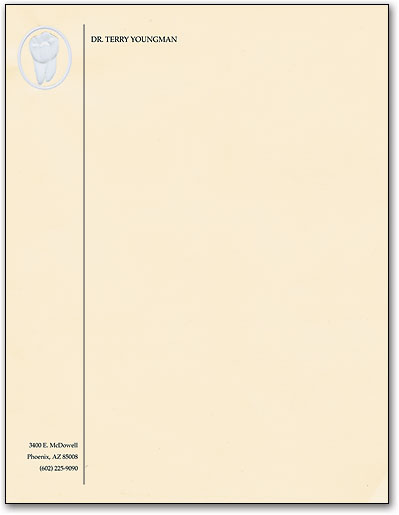 personal stationery letterhead