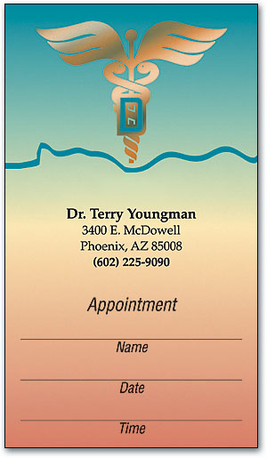 Desert Sky Appointment Business Card