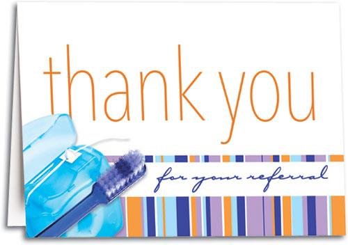 Thank You Dental Folding Card SmartPractice Dental - Dental invoice template free online adult store