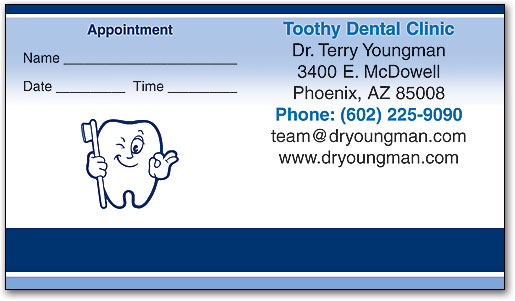 Orthodontic Appointment Cards Reduce No-shows | SmartPractice Dental