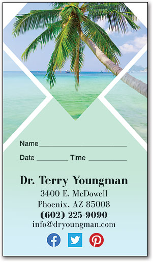 Summer Chill Appointment Business Card