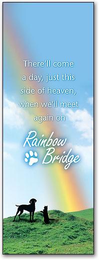 Rainbow Bridge Sympathy Cards Smartpractice Veterinary