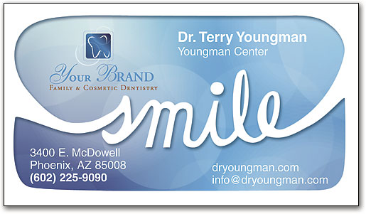 Dental practice business cards wide selection smartpractice dental tidal smile business card colourmoves