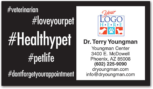 Hashtag Vet Business Card