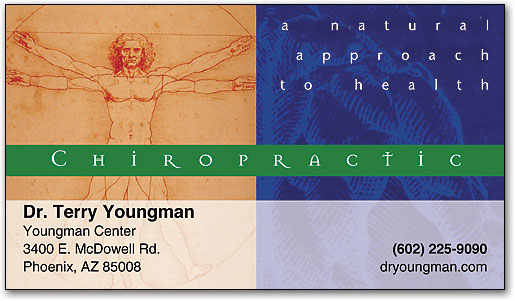 Business cards help your practice succeed smartpractice chiropractic natural approachchiropractic business card colourmoves
