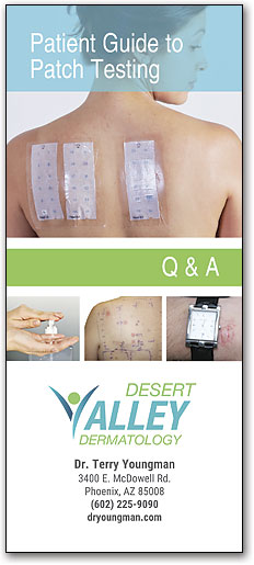 Patient Guide to Patch Testing Brochure
