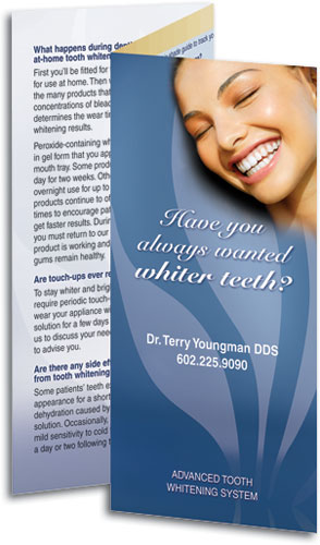 Cosmetic Dentistry Brochures Educate & Increase Case Acceptance ...