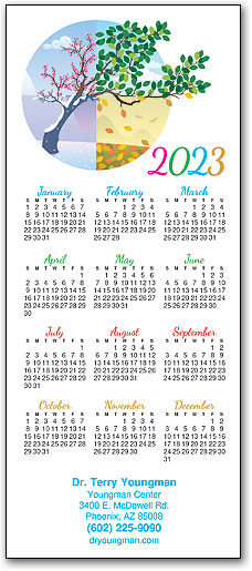 Year In Bloom Promotional Calendar