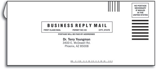 ReturnReply Envelopes SmartPractice Medical - 9 invoice envelopes