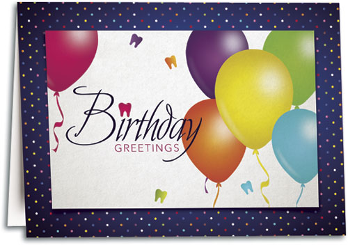 Birthday Cards Dental Patient Greetings – High Quality Birthday Cards