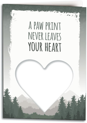 photo about Free Printable Pet Sympathy Cards named Sympathy Playing cards Clearly show Compion for the Reduction of a Puppy
