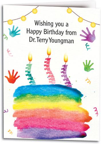 Birthday Cards With Hand Spine Designs Smartpractice Chiropractic