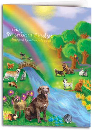 Rainbow Bridge Sympathy Cards | SmartPractice Veterinary