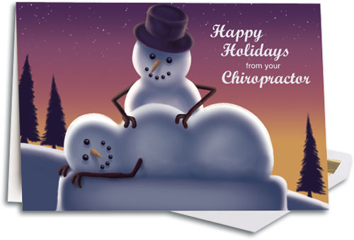 [+] zoom - Christmas And Holiday-themed Folding Cards SmartPractice Chiropractic