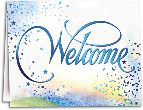 welcome note for freshers