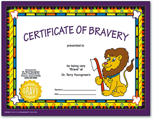 Certificates Make Kids Feel Like Superstar Patients – Certificate of Achievement for Kids