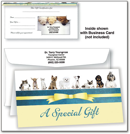 Pet Grooming Gift Certificates make the perfect client giveaway ...