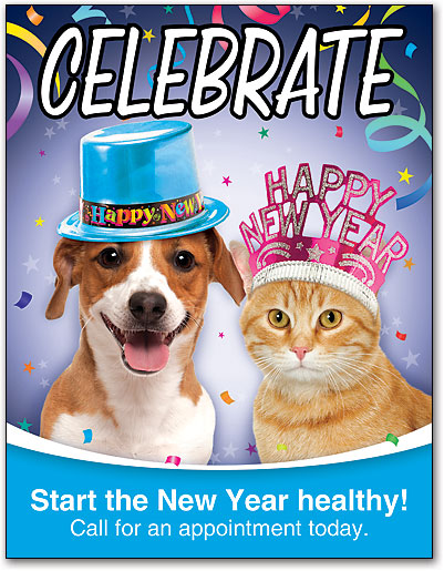 pet celebration 4 up laser card smartpractice full color new years