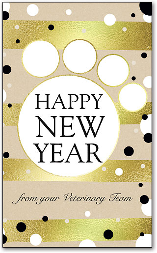 Veterinary New Year\'s Cards | SmartPractice Veterinary
