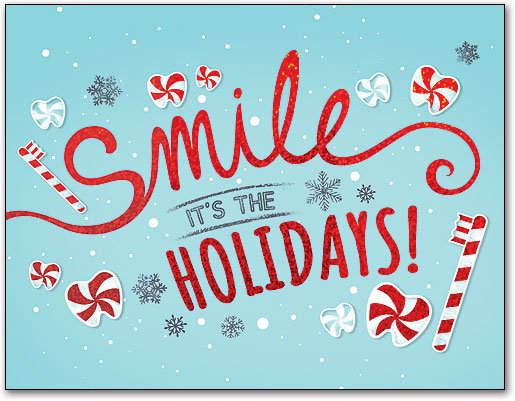 Dental Holiday Folding Cards Smartpractice Dental