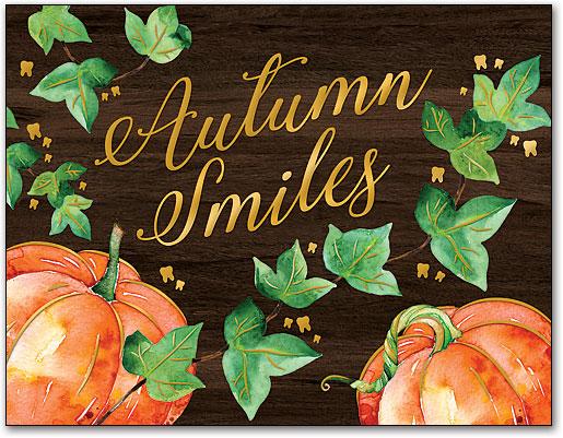 Thanksgiving Amp Fall Laser Cards Smartpractice Dental