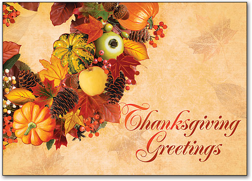 Thanksgiving and fall themed postcards smartpractice chiropractic thanksgiving greetings postcard m4hsunfo