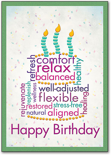 Happy Birthday chiropractic from Bee Cave chiropractor