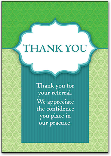 Eye care thank you cards smartpractice eye care go green thank you postcard expocarfo Gallery