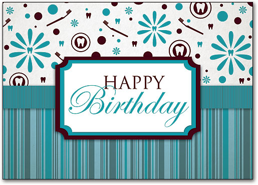 Dental Birthday Postcards Wide Variety of Fun Designs – Birthday Post Cards