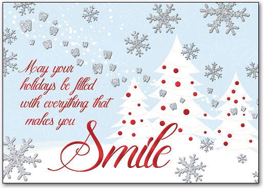 Dental Holiday, Christmas & Winter-themed Postcards ...