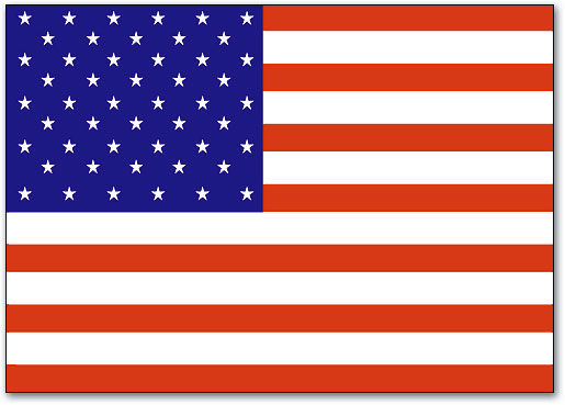 american flag 4 up laser card smartpractice dental
