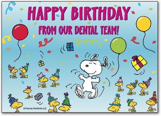 Happy Birthday Postcard Smartpractice Dental