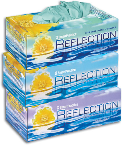 Reflection® Latex Powder Free Exam Gloves
