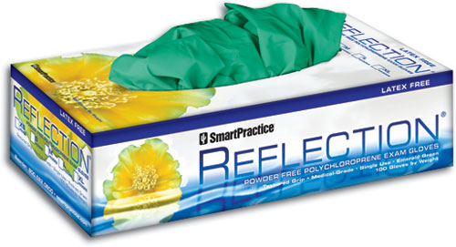 Reflection<sup>&reg;</sup> Polychloroprene Powder Free Exam Gloves