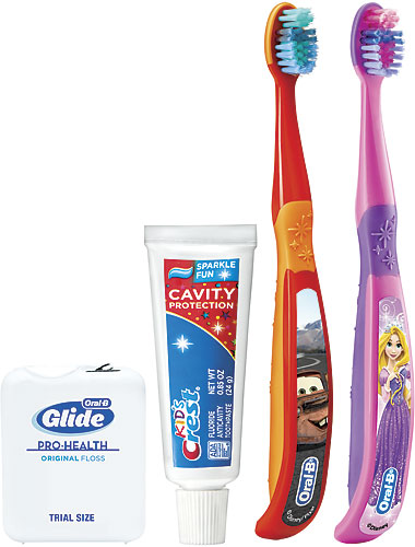 Kids Toothpaste And Toothbrush Kids & Tweens Toot...