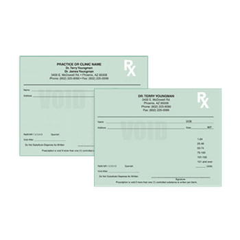 Shop Prescription Pads